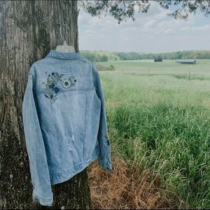 Forever 21 Blue Jean Jacket